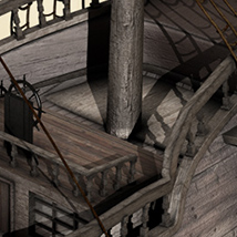 i13 Pirate Ship - Extended License image 5