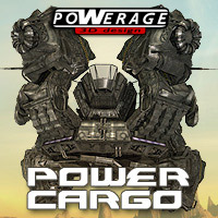 SF Power Cargo ship - Extended License Gaming 3D Models powerage