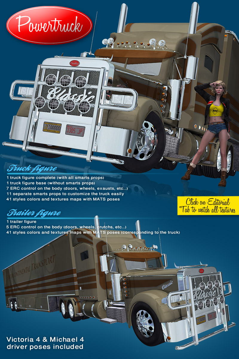 Power Truck - Extended License