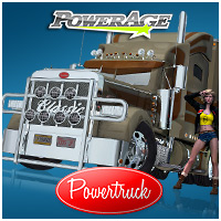 Power Truck - Extended License 3D Models Gaming Extended Licenses powerage