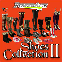 Powerage's Shoe Collections II - Extended License 3D Figure Assets Extended Licenses powerage