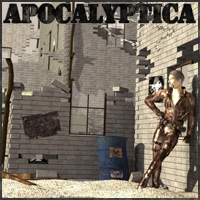 Apocalyptica Set 02 Essentials Megapack - Extended License 3D Models 3D Figure Assets 3-d-c