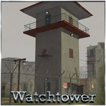 Apocalyptica Watchtower - Extended License 3D Models 3-d-c