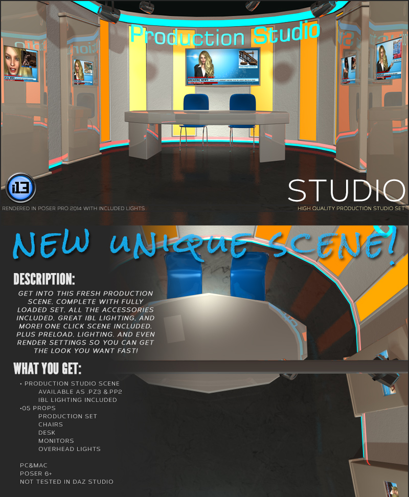 i13 Studio - Extended License by biglovepose