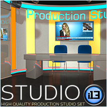 i13 Studio - Extended License Gaming 3D Models ironman13