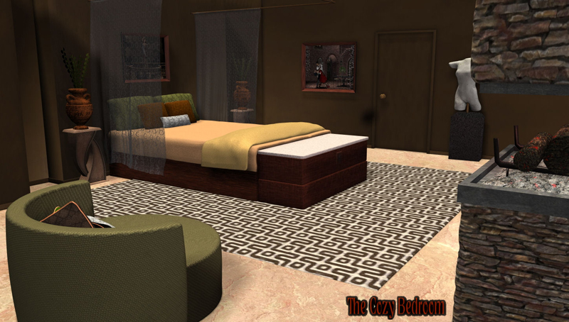 The Cozy Bedroom - Extended License
