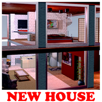 New House - Extended License 3D Models Extended Licenses Fugazi1968