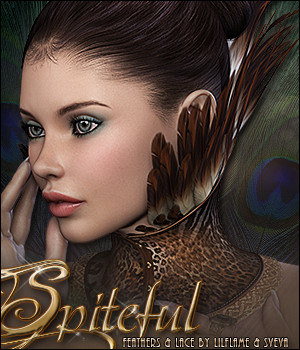 Spiteful for Feathers & Lace 3D Figure Essentials Sveva