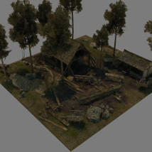 Medieval_Logging_Camp image 1