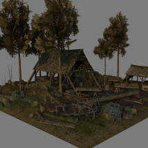 Medieval_Logging_Camp image 2