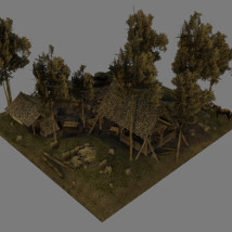Medieval_Logging_Camp image 3