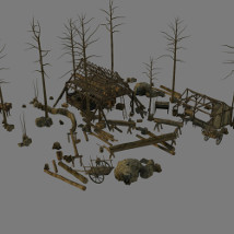 Medieval_Logging_Camp image 7