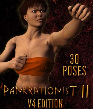 Pankrationist II for V4 3D Figure Essentials gmm2