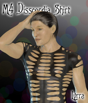 M4 Disscordia Shirt 3D Figure Essentials Lyrra