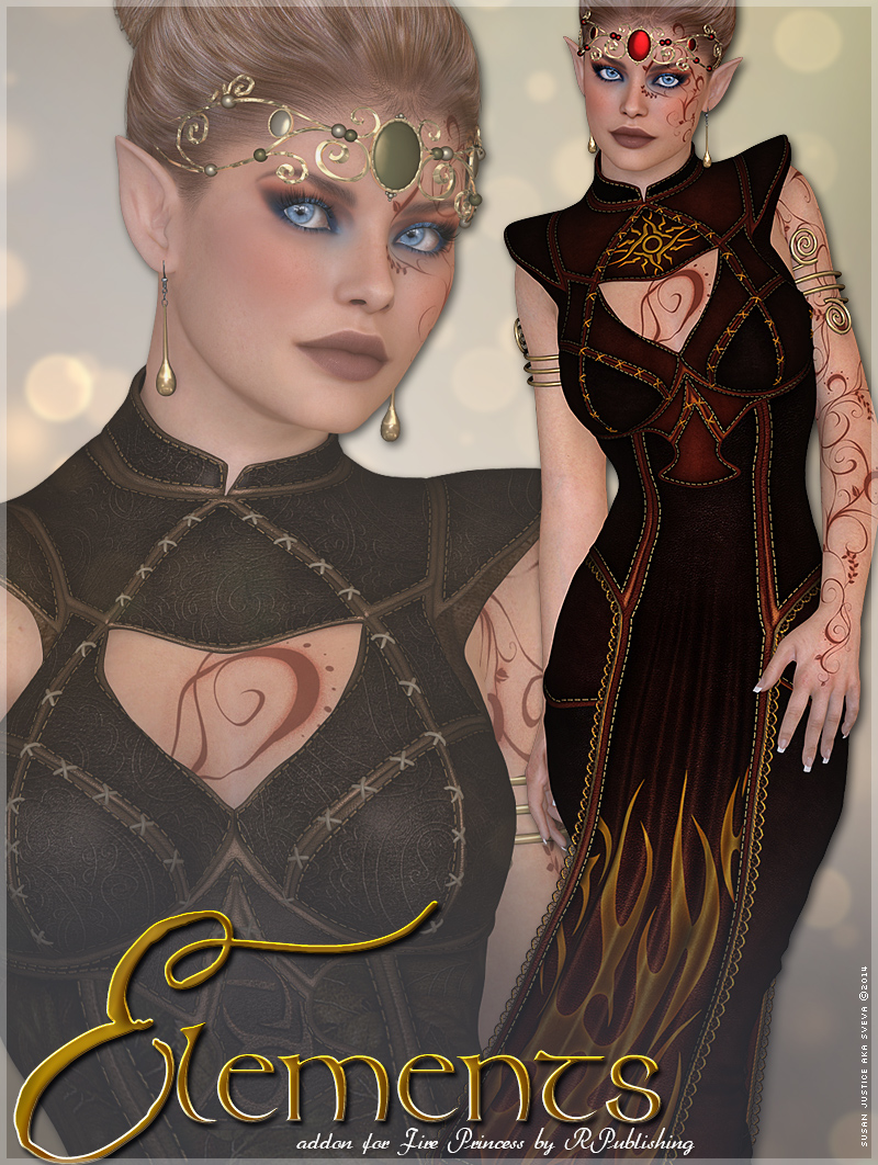Elements for Fire Princess by Sveva