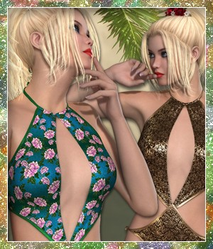 Sunshine for Frisky Swim VII 3D Figure Essentials sandra_bonello