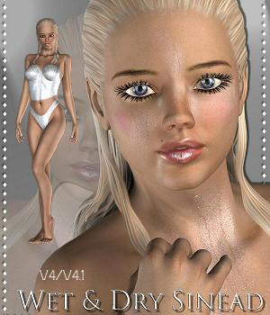 Wet & Dry Sinead V4/V4.1 3D Figure Essentials _Breeze