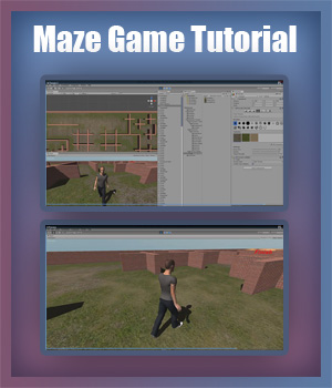 Maze Game Tutorial Tutorials : Learn 3D Fugazi1968
