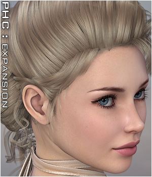 PHC : Pinque Curls 3D Figure Essentials P3D-Art