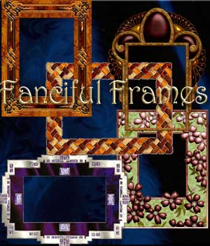 Harvest Moons Fanciful Frames 2D Graphics Merchant Resources MOONWOLFII