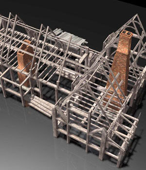 MS14 Beam Construction Poser 3D Models London224