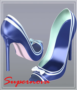 !Sexy Captain_Shoes 3D Figure Assets -supernova-
