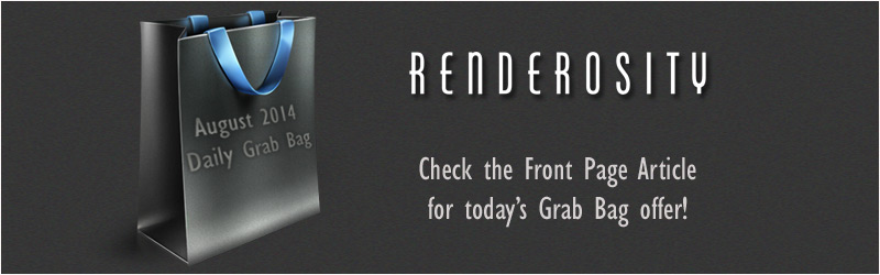 Grab Bag - BUY 1 ITEM FROM RENDEROSITY MARKETPLACE GET ONE FREE!
