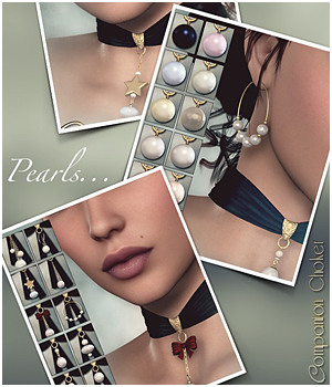 SV's Companion Choker - Pearls by Sveva