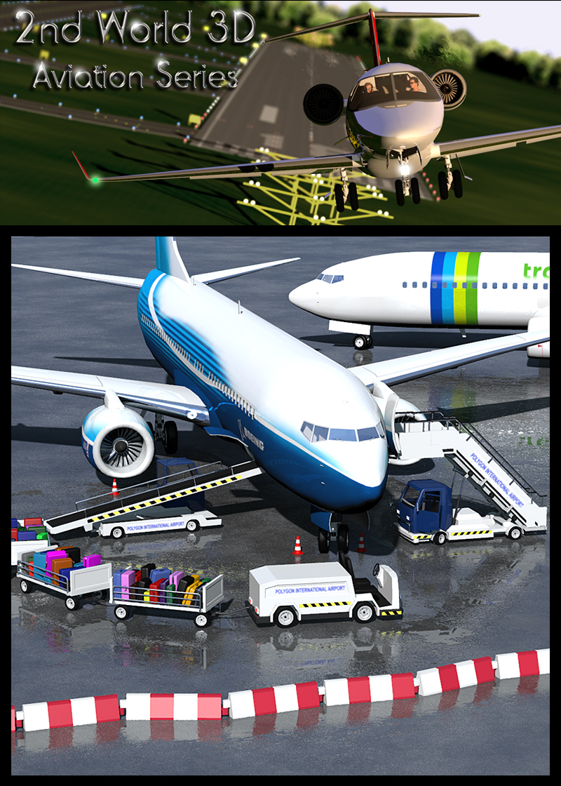 Airport ground support vehicles - Extended License by 2nd_World