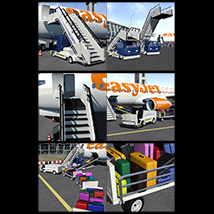 Airport ground support vehicles - Extended License image 2