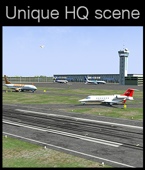 Polygon International Airport - Extended License 3D Models Gaming 2nd_World
