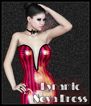 Dynamic Nova Dress 3D Figure Essentials SynfulMindz