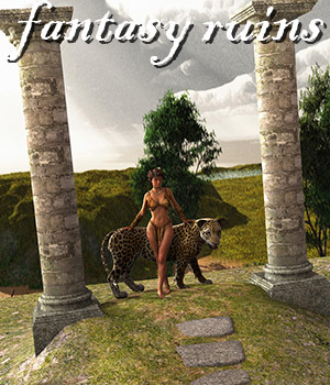 Fantasy Ruins 3D Models RPublishing