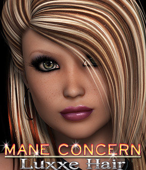 Mane Concern: Luxxe Hair 3D Figure Essentials 3DSublimeProductions