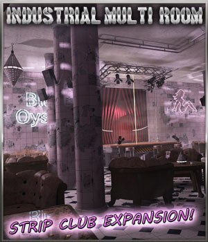 Apocalyptic Strip Club for IMR by 3-D-C 3D Models 3-d-c