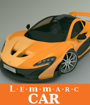 Lemmarc Car 3D Models TruForm