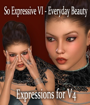 So Expressive VI - Everyday Beauty 3D Figure Essentials vanda51