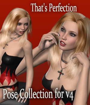 That's Perfection - Poses for V4 3D Figure Assets vanda51
