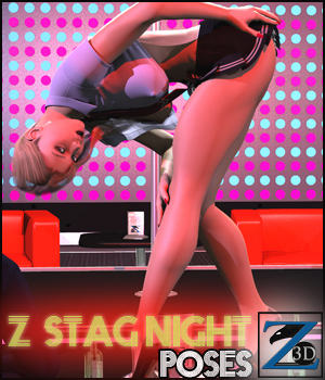 Z Stagnight - Poses 3D Figure Essentials Software Zeddicuss