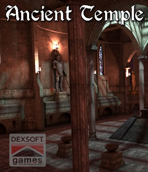 Ancient Temple 3D Models dexsoft-games