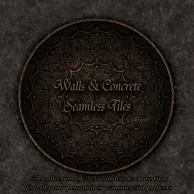 Walls & Concrete - Texture Tiles by antje