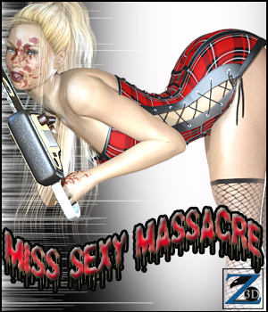 Z Miss Sexy Massacre 3D Figure Essentials 3D Models Zeddicuss