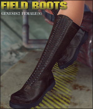 Field Boots G2F 3D Figure Essentials lilflame