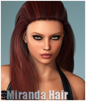 Miranda Hair and OOT Hairblending 3D Figure Essentials outoftouch