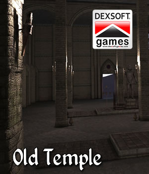 Old Temple 3D Models dexsoft-games