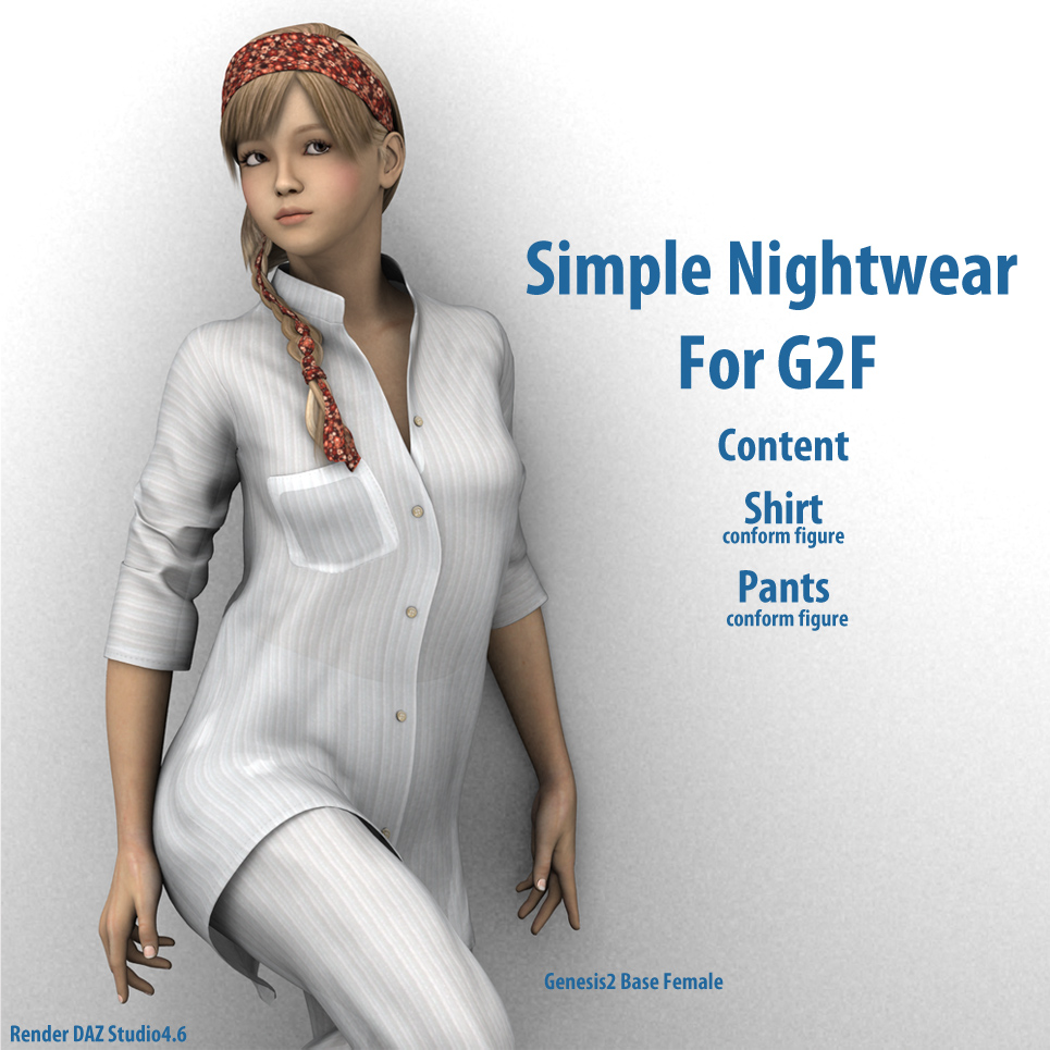 Simple Nightwear for G2F