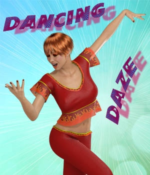 Dancing Daze for V4 3D Figure Essentials 3DFineries