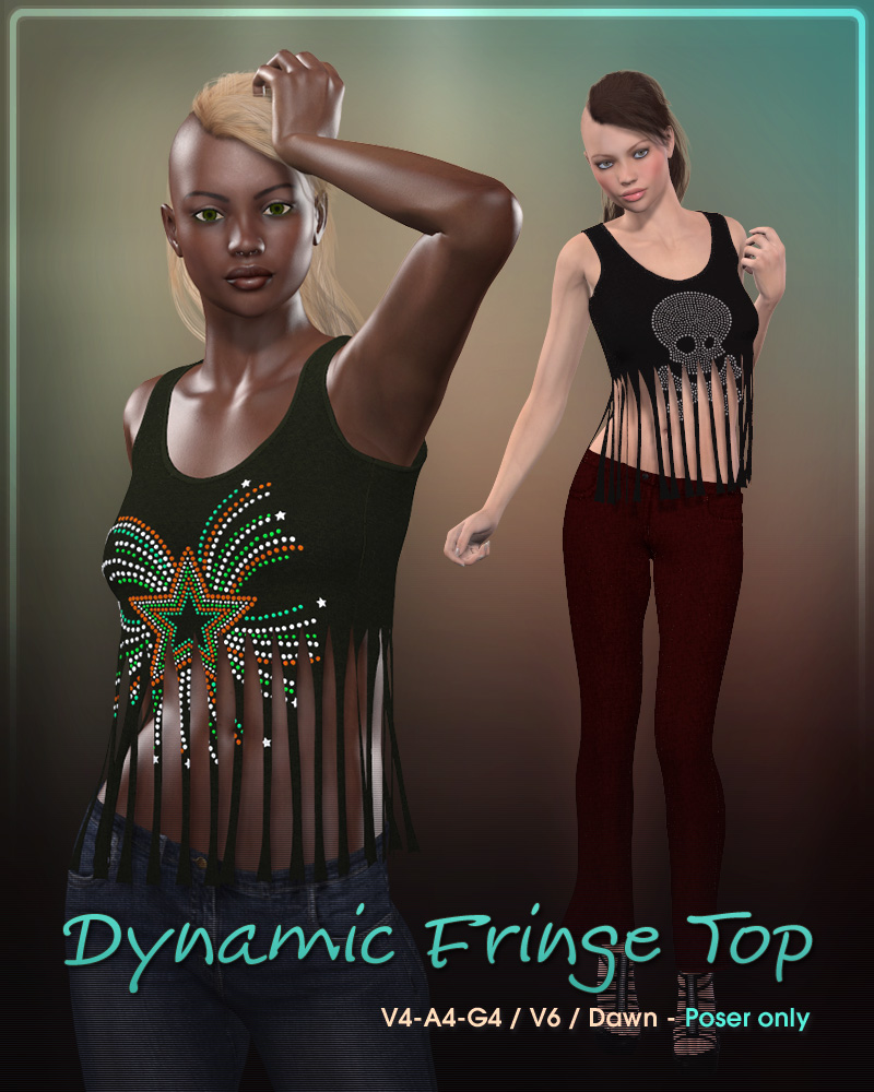 Dynamic Fringe Top