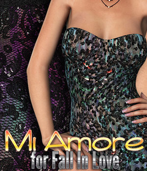 Mi Amore for Fall In Love 3D Figure Essentials 3DSublimeProductions