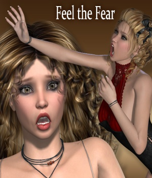 Feel the Fear Poses and Expressions for V4 3D Figure Essentials vanda51